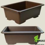 Get these durable plastic bonsai pots
