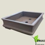 Solid and safe concrete bonsai pots